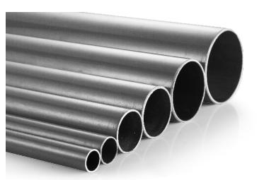 灰色陽極氧化鋁合金管